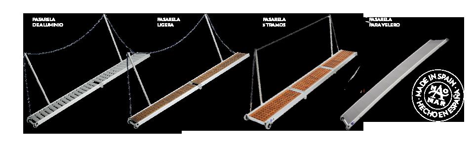 Pasarelas Naomar | Accesorios náuticos | NAOMAR