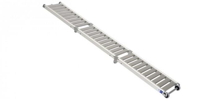 Pasarela BCN Aluminio 3 tramos