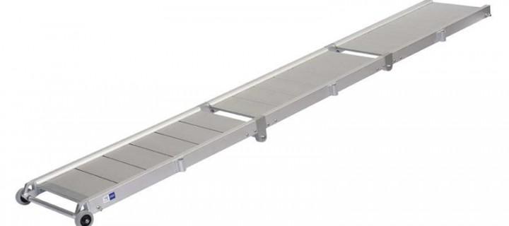 Pasarela Clásica Aluminio 3 tramos