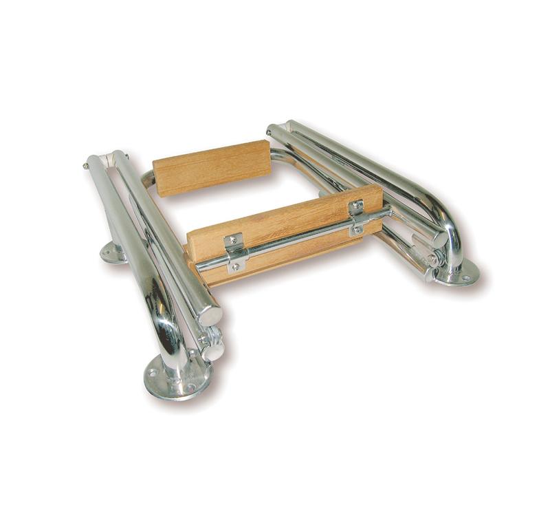 Escalera n utica plegable en 2 tramos for Escalera rolser 3 peldanos