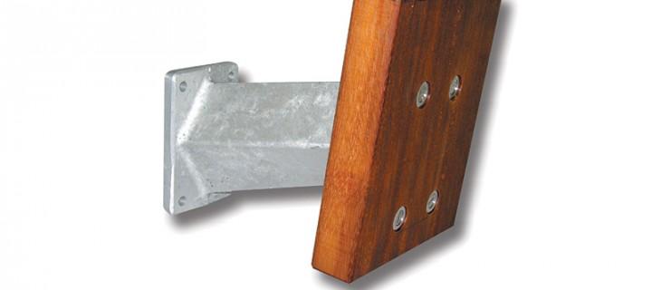 Soporte Aluminio hasta 15CV
