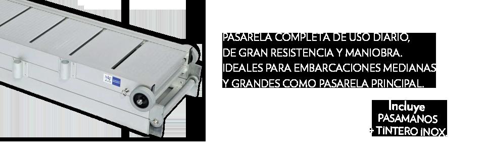 (Español) Oferta Pasarela Ligera de aluminio