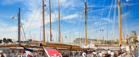 (Español) VIII regata Puig Vela Clàssica Barcelona
